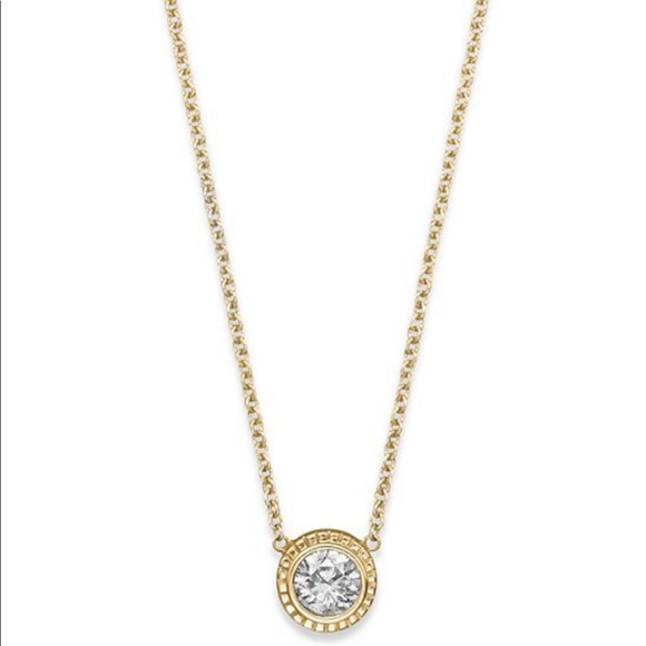 a1d647a5e15 Bloomingdale's .25 carat diamond 14k gold necklace NWT